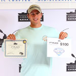 fishing tournament blue crab 1st place