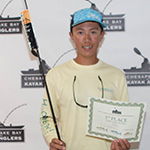 fishing tournament junior winner