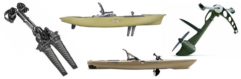Alfa img - Showing > Pedal Power Kayak Paddle